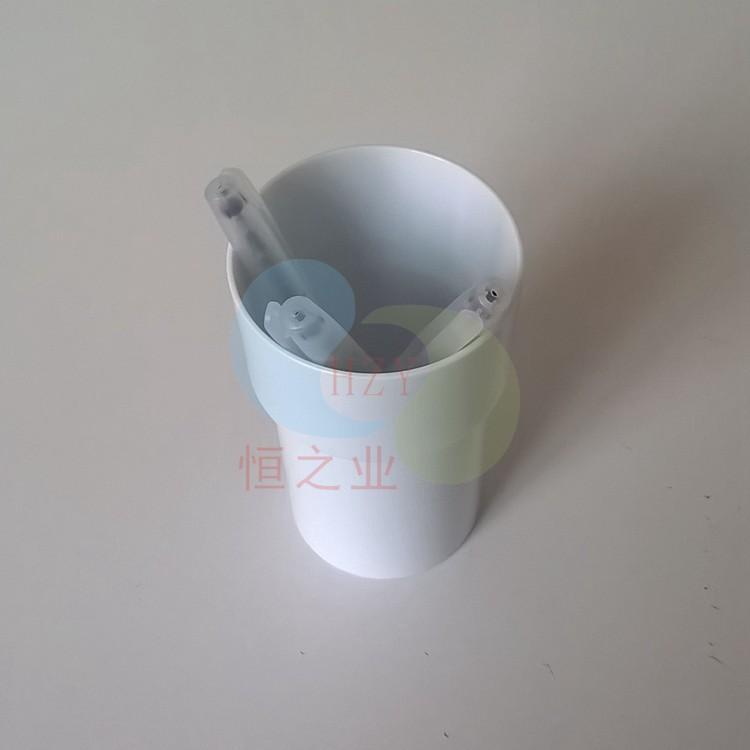 塑胶杯立起