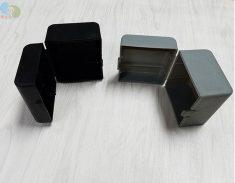 方形塑胶包装盒打开状态